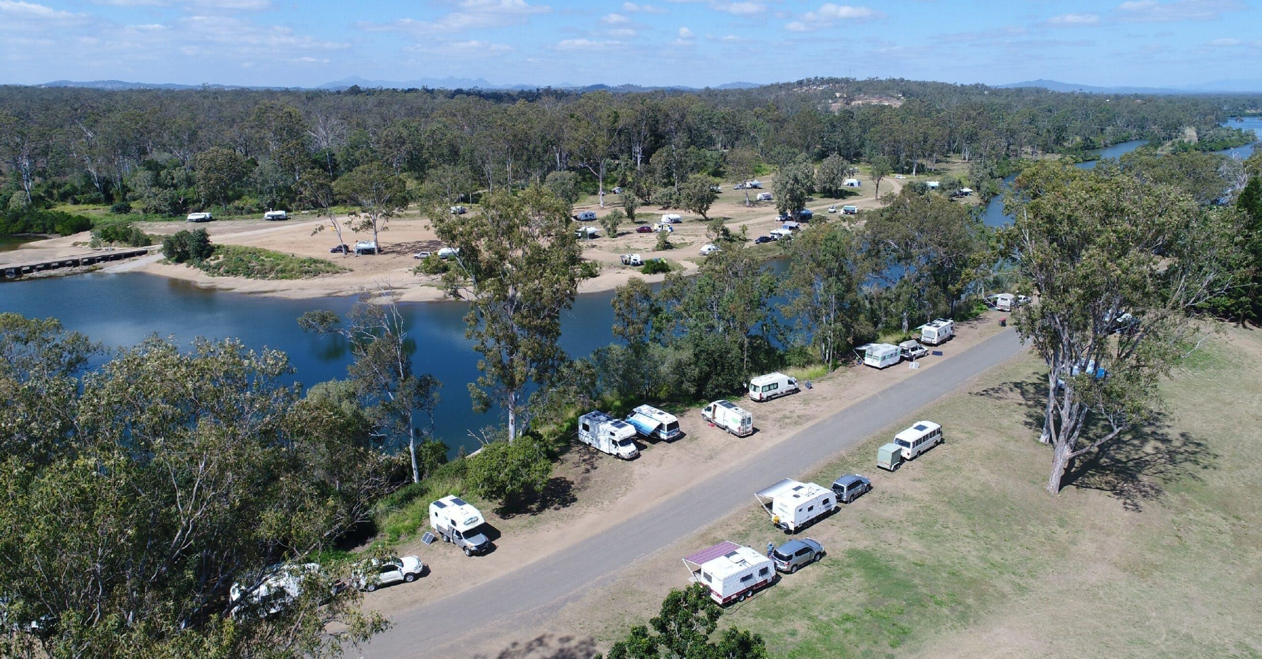 Qld 108 Calliope River (drone)