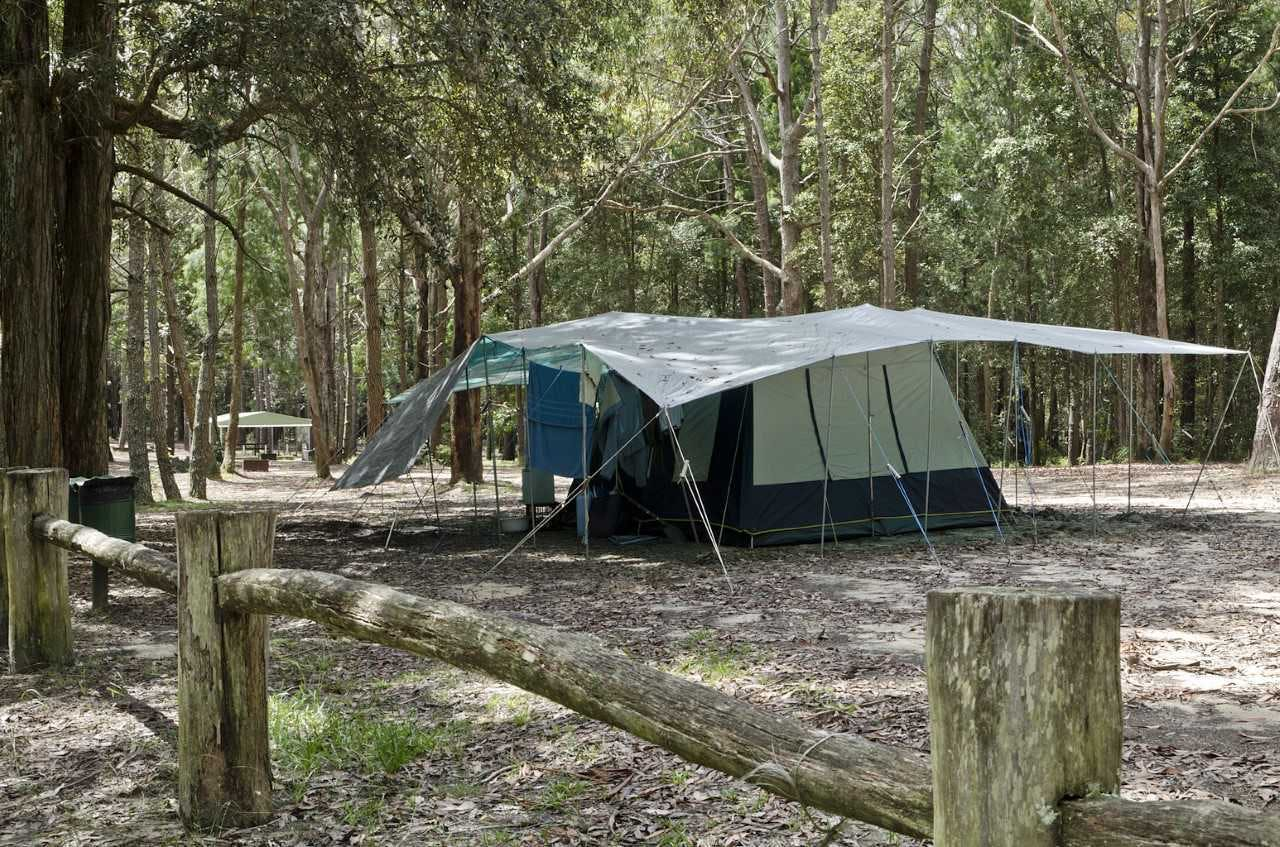 Olney HQ Camping Area