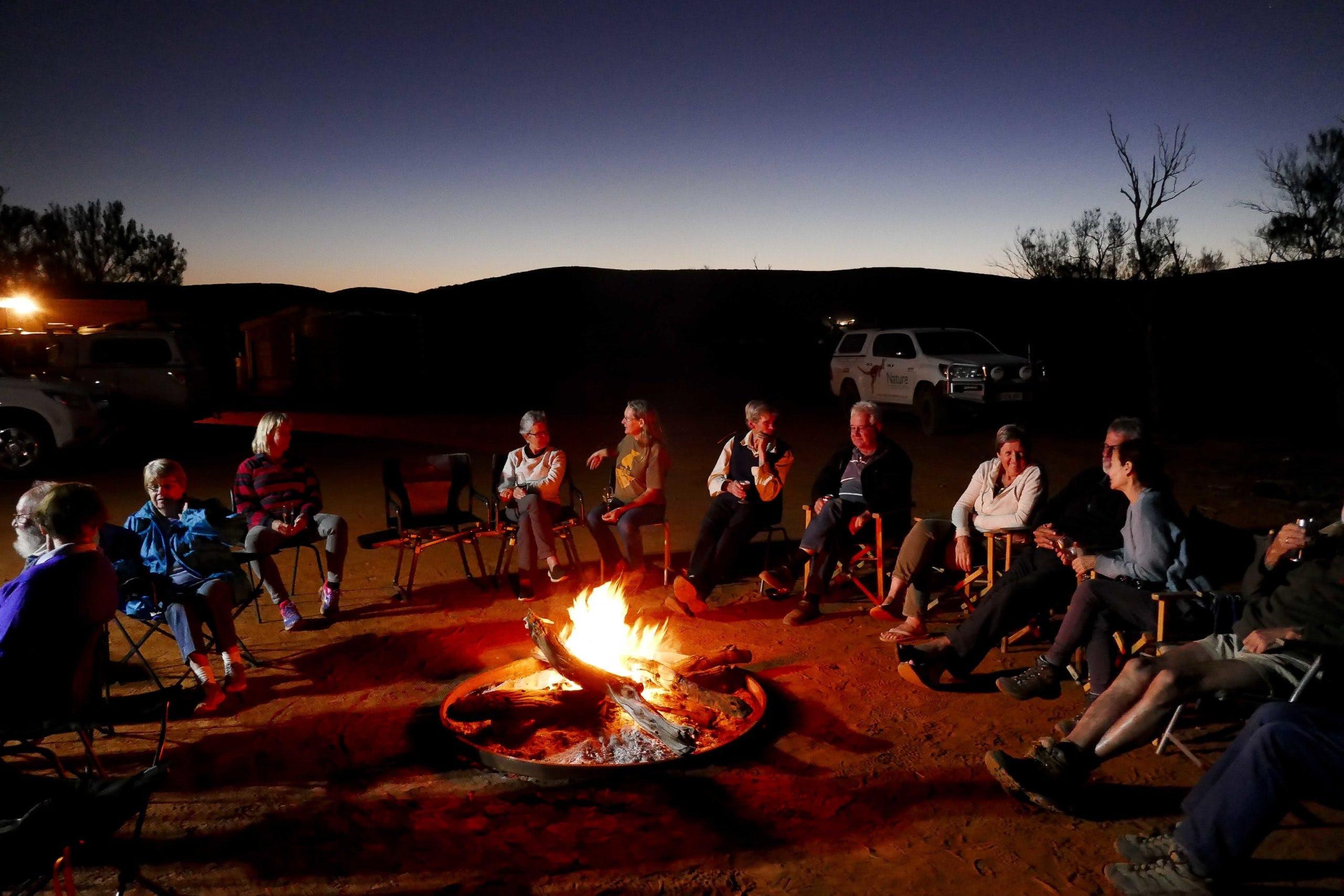 Hiltaba Campfire