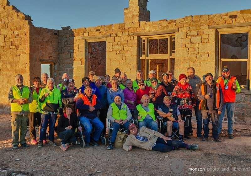 Farina Township last night of restoration, 2018