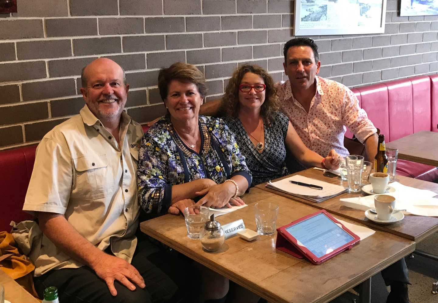 Brian and Kirsten from GPSOz catch up with Michelle and Heatley from CAMPS Australia Wide