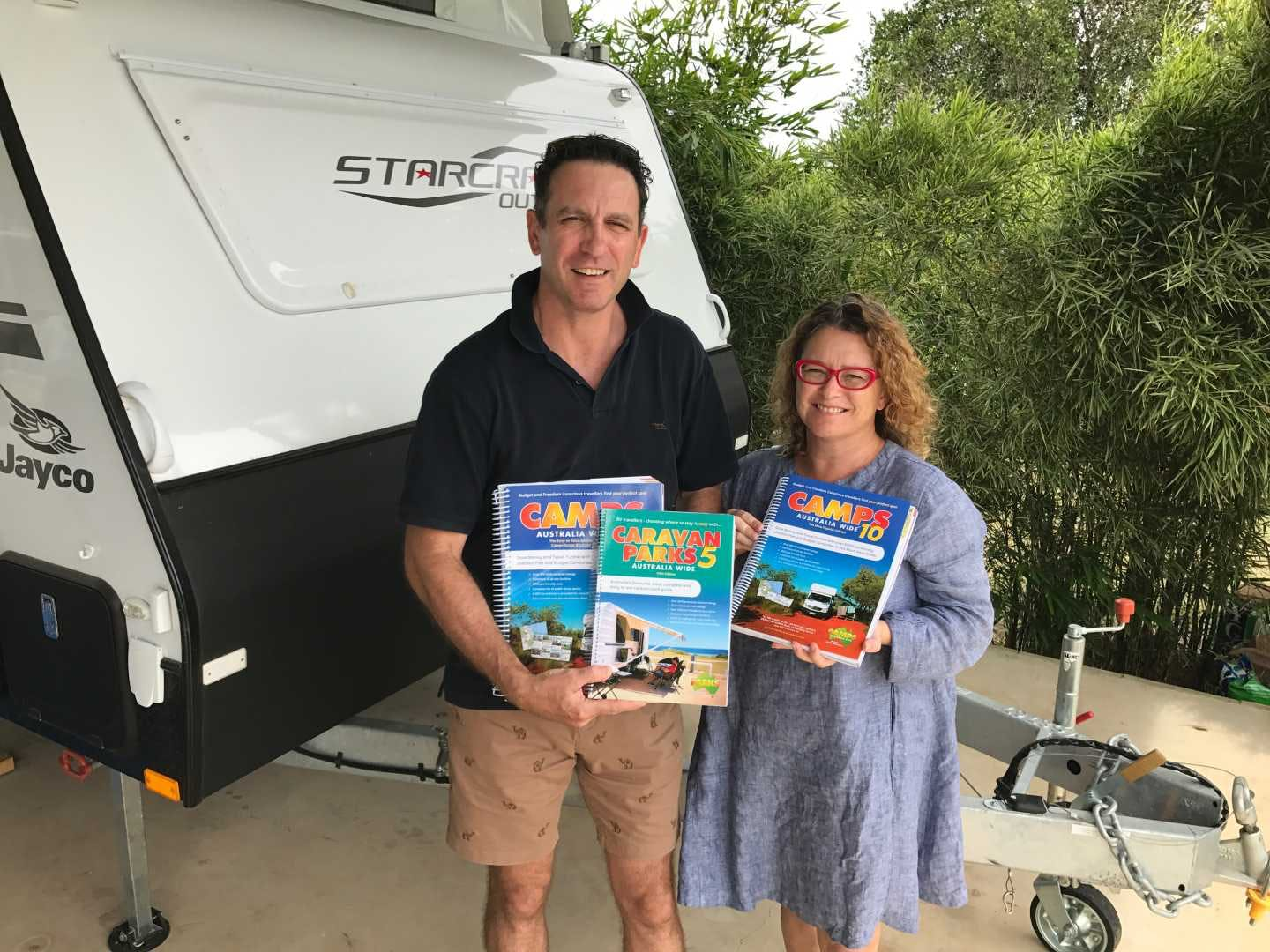 Heatley and Michelle Gilmore are excited to present CAMPS 10 – Australia's favourite camping guide has a new edition