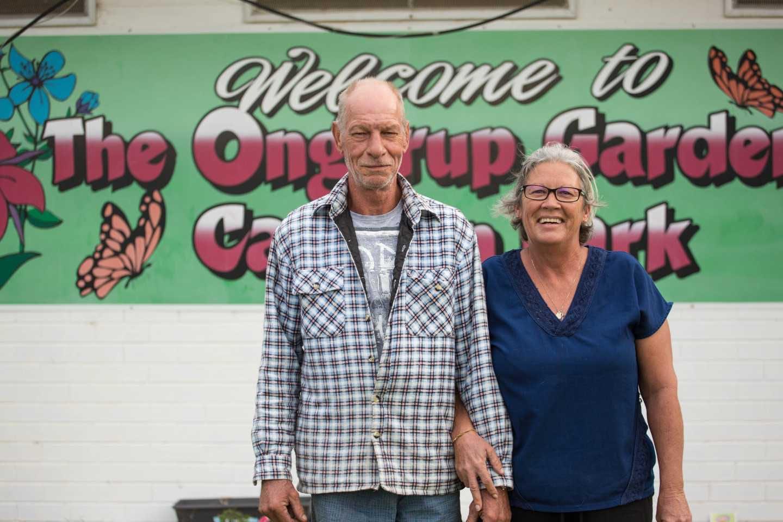Ongerup Caravan Park - Lee and Stephen Baker