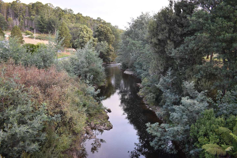Branxholm - River from Bridge
