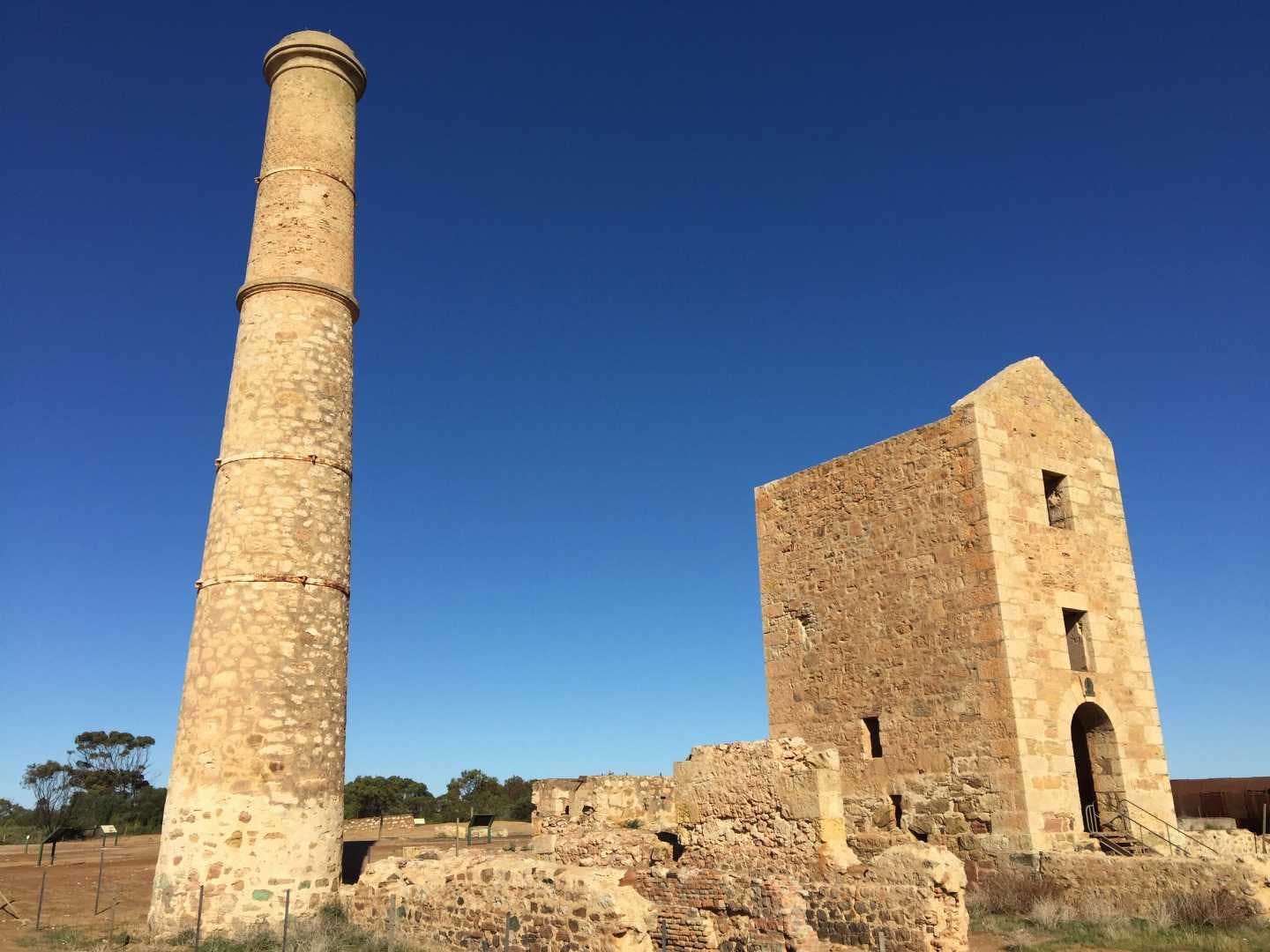 Hughes Engine House, Moonta Mines - image Copper Coast Visitor Information Centre
