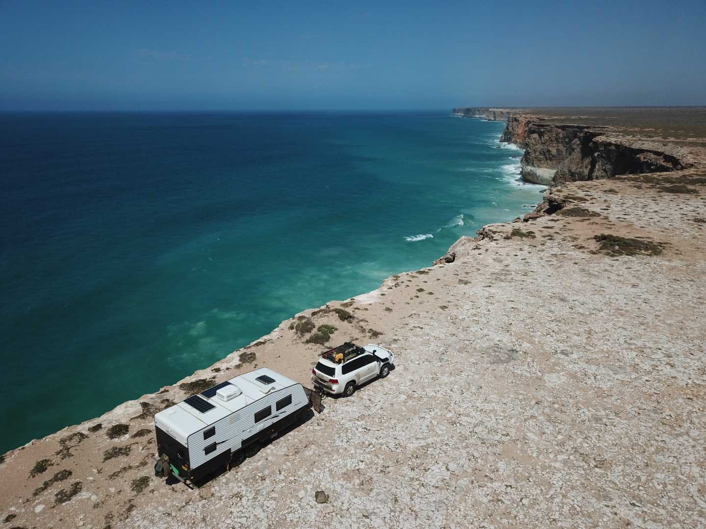 This wonderful shot is Bunda Cliffs by @munrosmakingmemories from our Instagram page. Site SA 670 in Camps 10 or find it on the Camps Australia Wide App. It is 60km west of the Nullabor Roadhouse, and has no facilities - but look at those views!