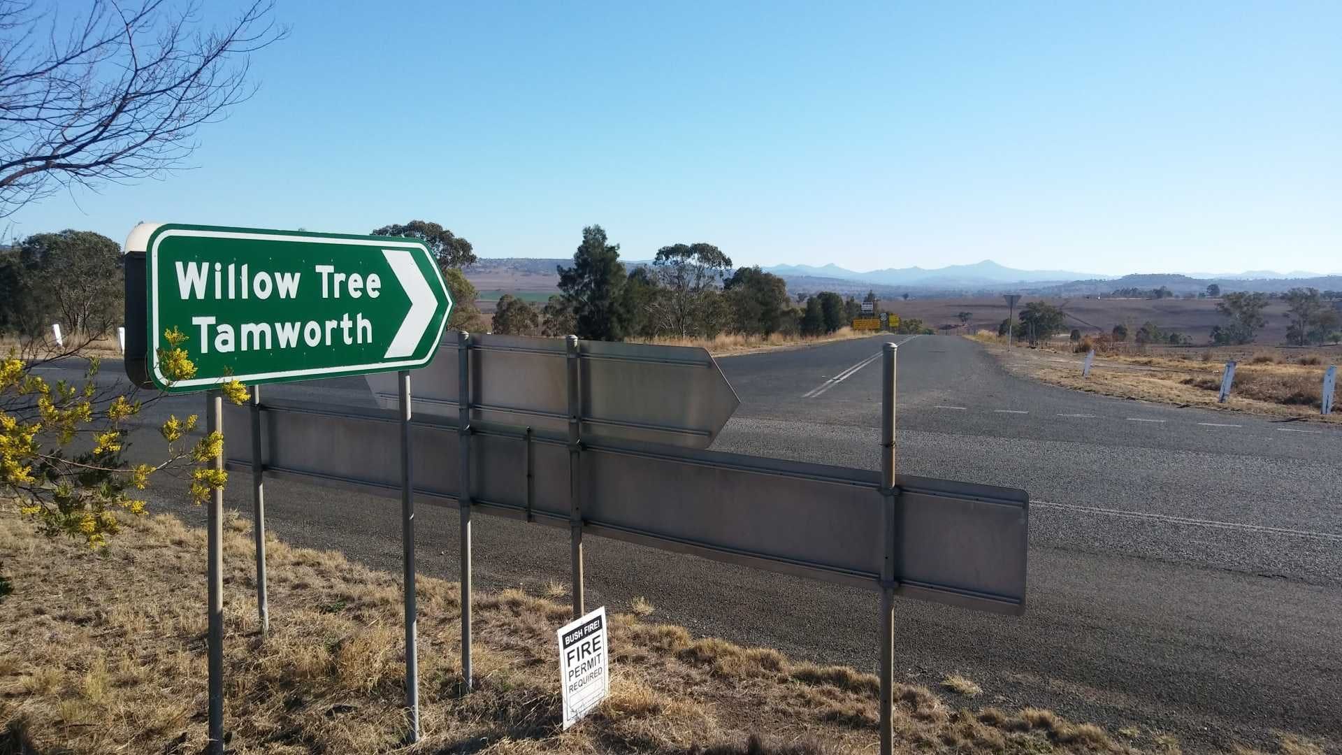 Coulsons Creek Road Merriwa to Willow Tree reconstruction Image Upper Hunter Shire Council NSW