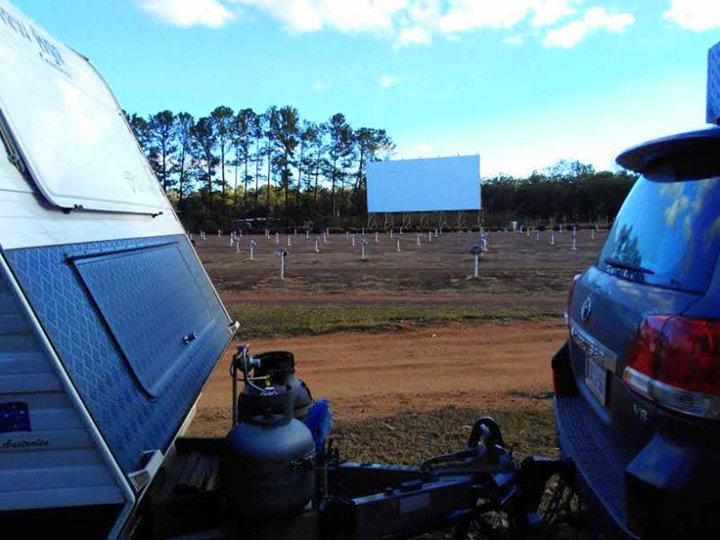 Try a camp with a difference - at Mareeba Drive-In,QLD - Image courtesy Michael Lennon