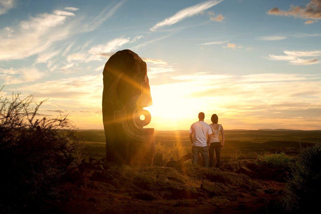 Broken Hill - Sunset Sculptures - Rob Blackburn
