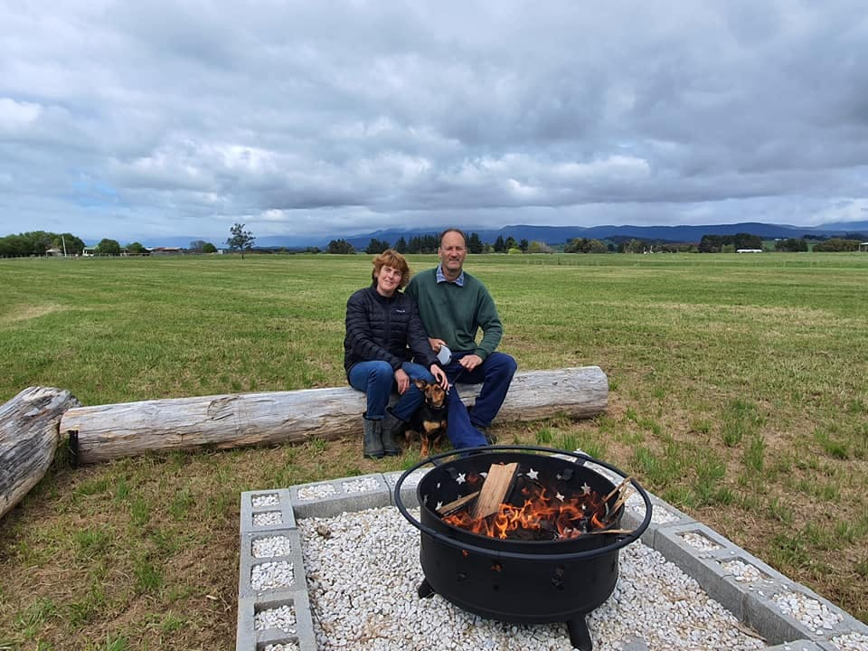 Steve and Annette Camino of Hagley RV Farmstay
