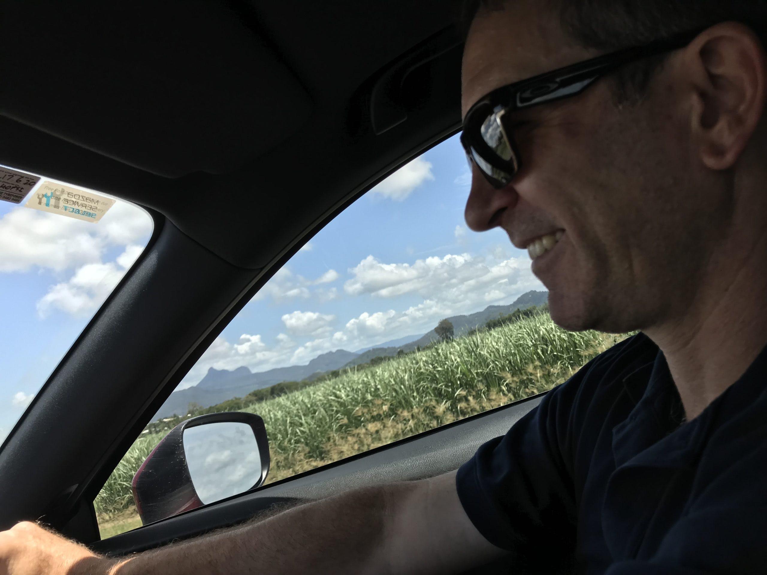 Heatley driving