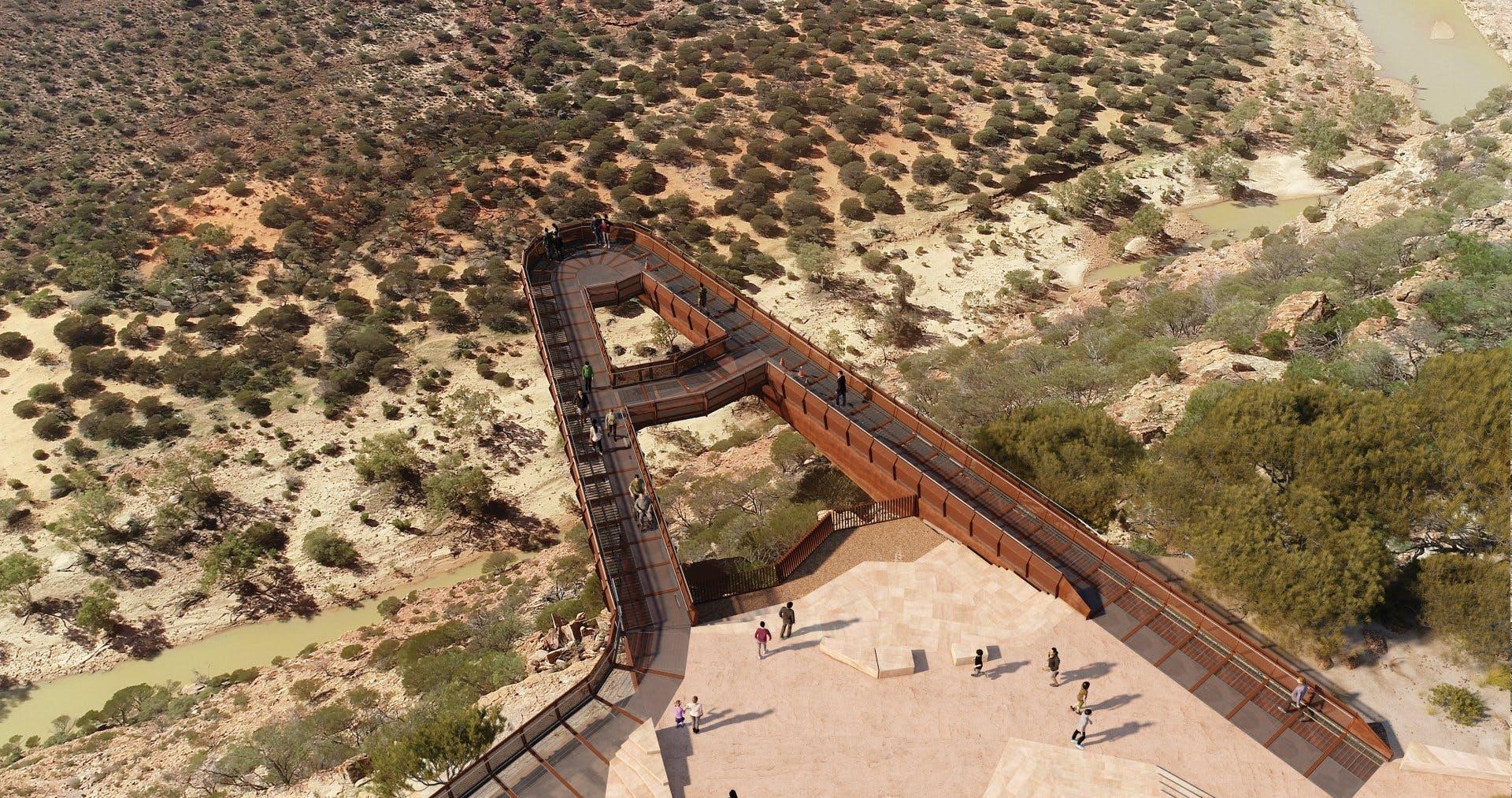 Kalbarri Skywalk - image credit BOCOL Constructions, Dermot Boyle