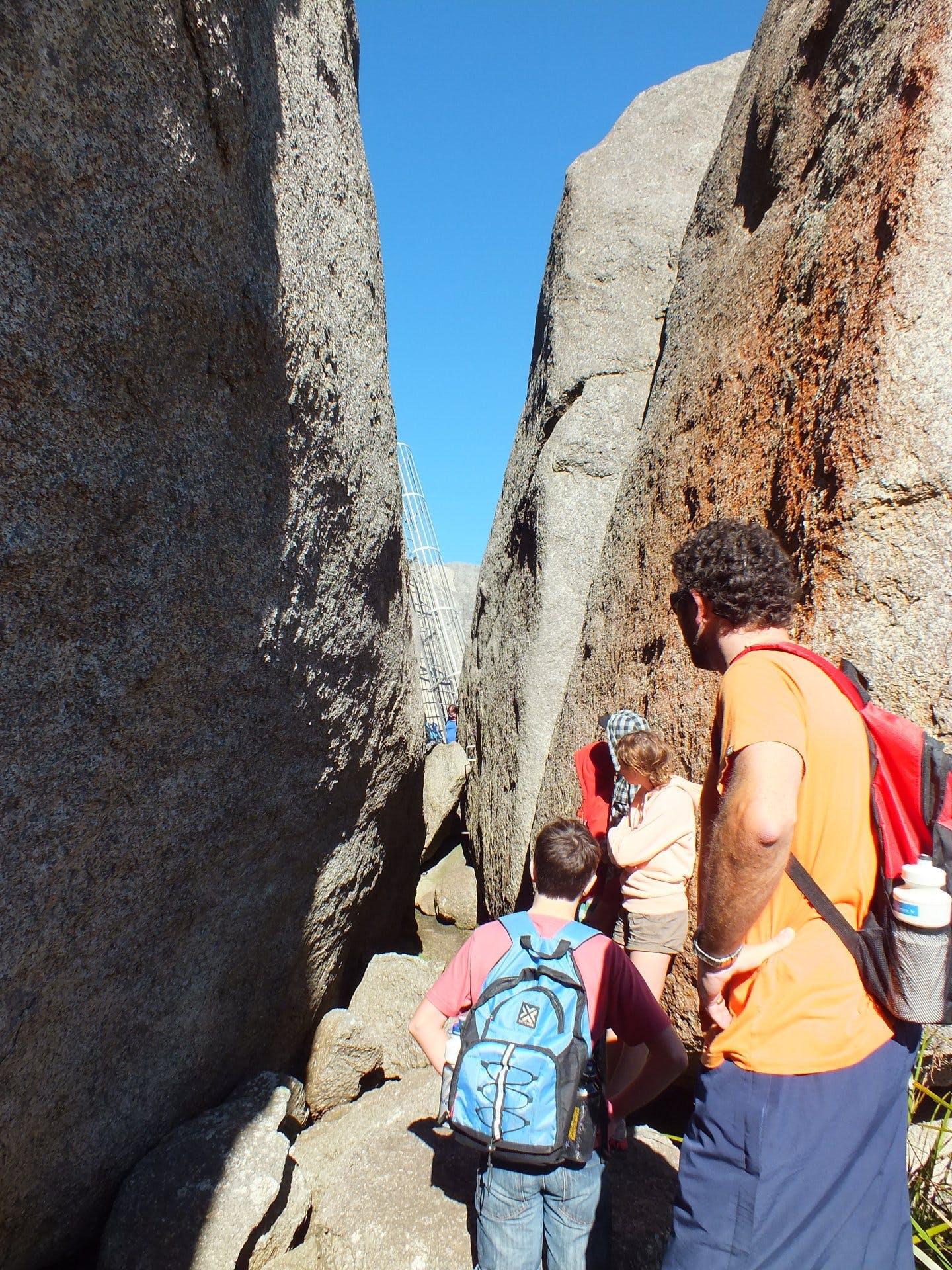 The Granite Skywalk - Castle Rock WA - 8281