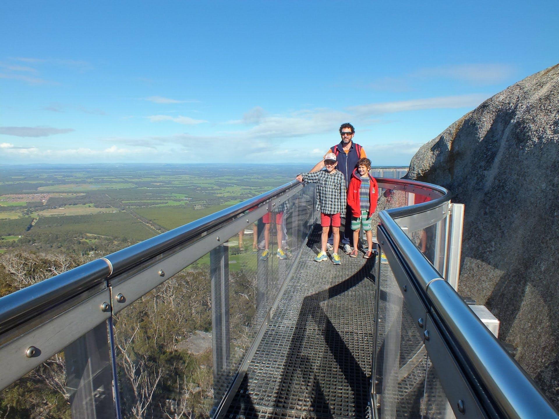 The Granite Skywalk - Castle Rock WA - 8288