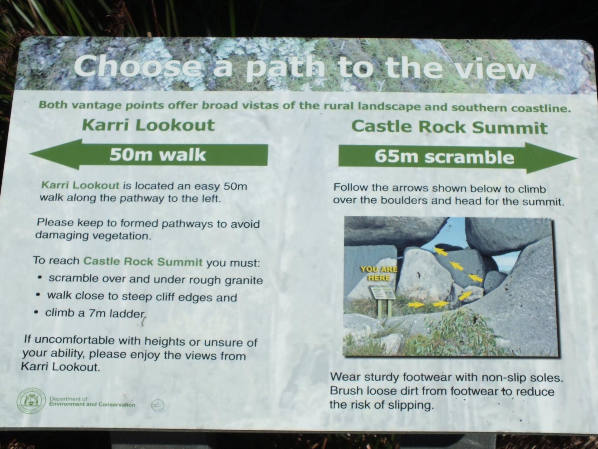 The Granite Skywalk - Castle Rock WA - 8300