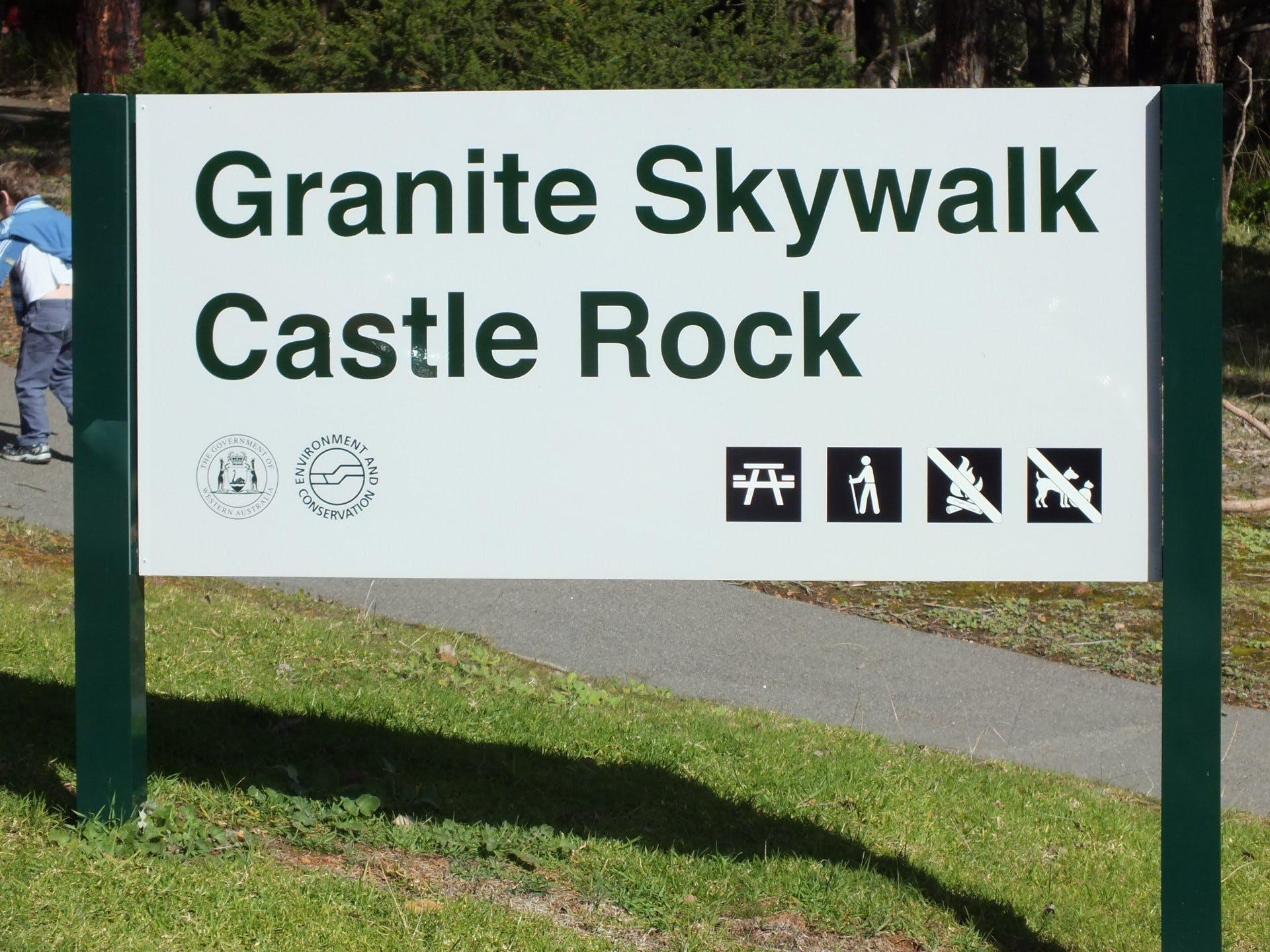 The Granite Skywalk - Castle Rock WA - 8304