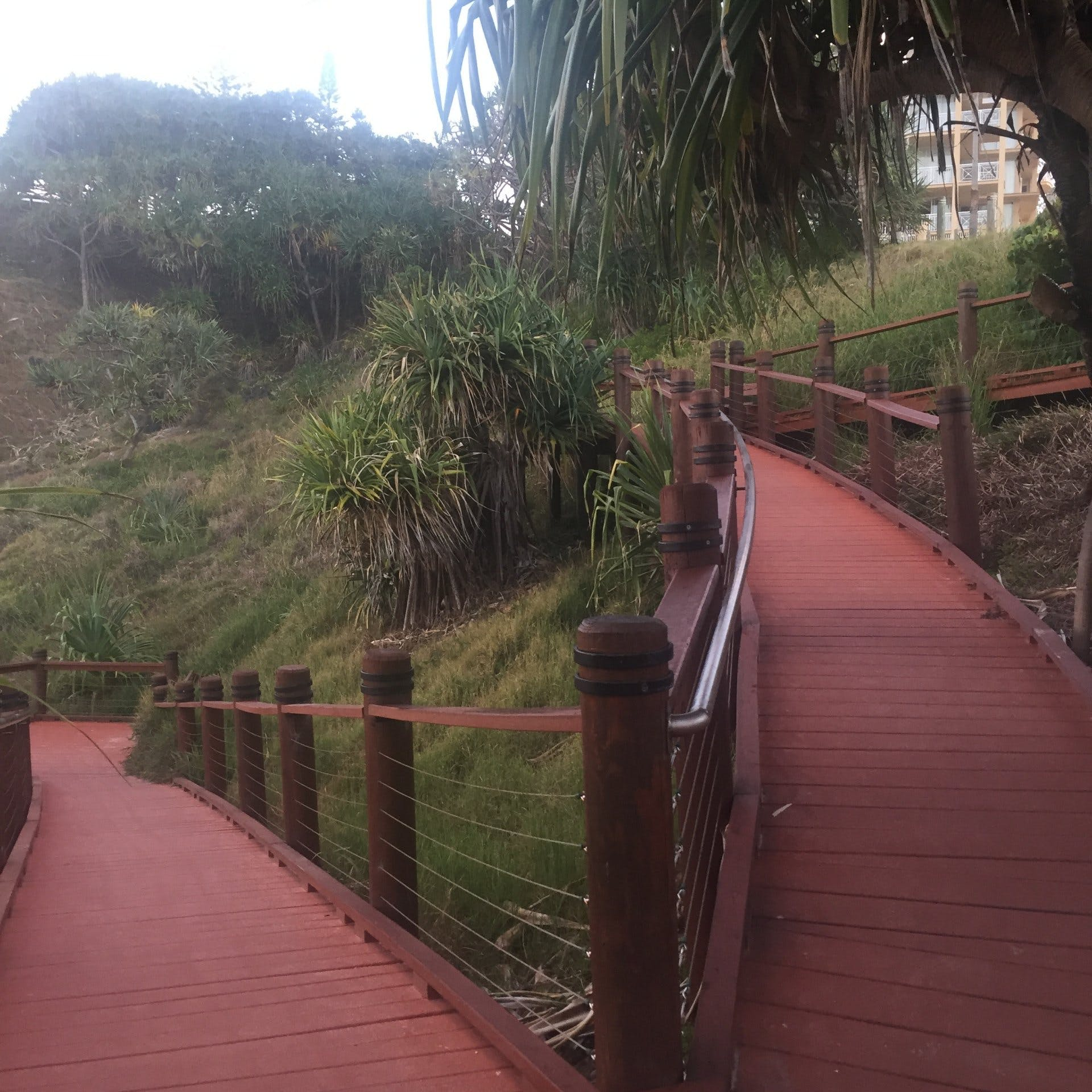 Tweed Heads - Boardwalk up to Point Danger