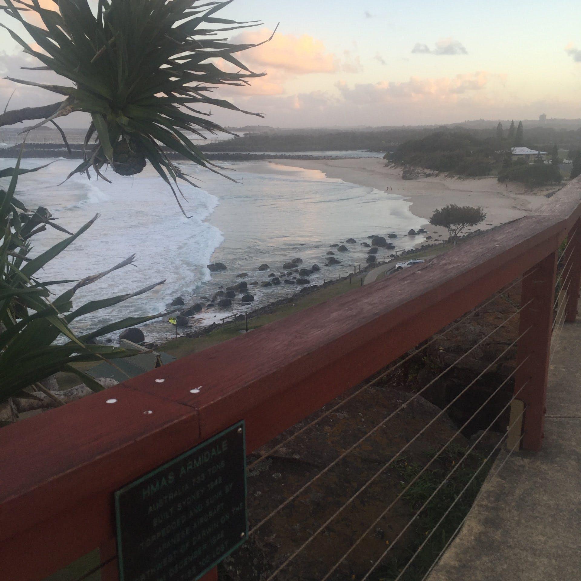Tweed Heads - Views from Point Danger of Duranbah Beach