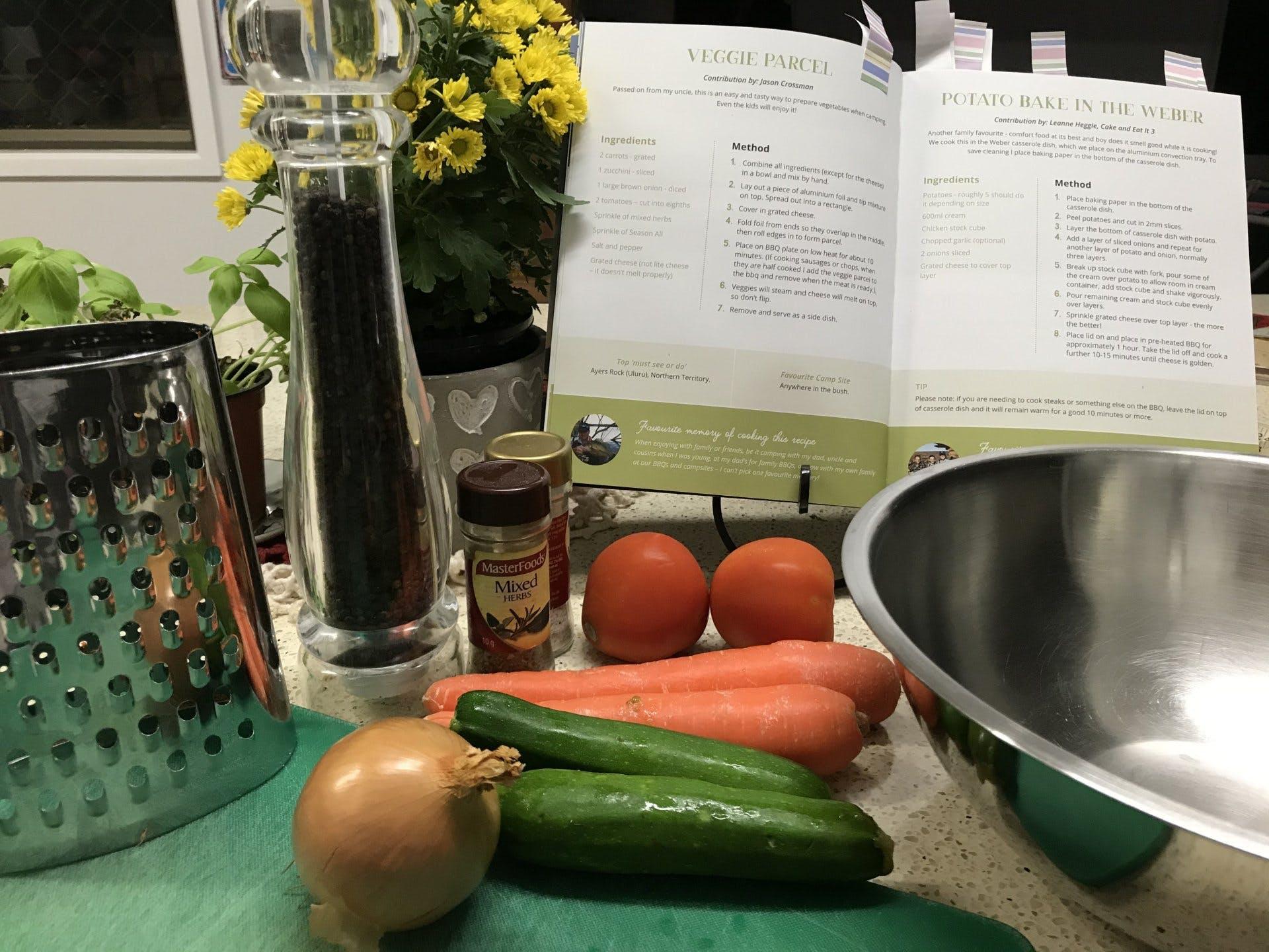 Veggie Parcel Recipe