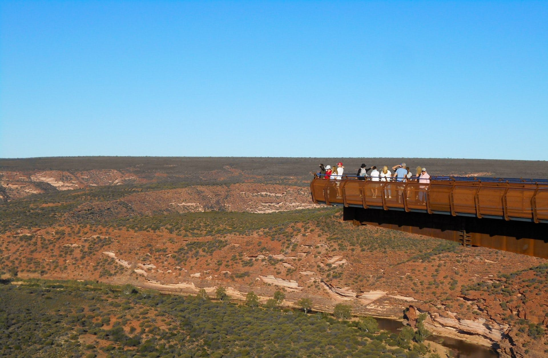 Kalbarri Skywalk (credit Department of Biodiversity, Conservation and Attractions)