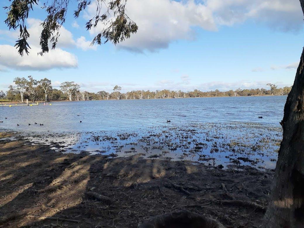 Wooroonook Lake and Sheep Hills Victoria
