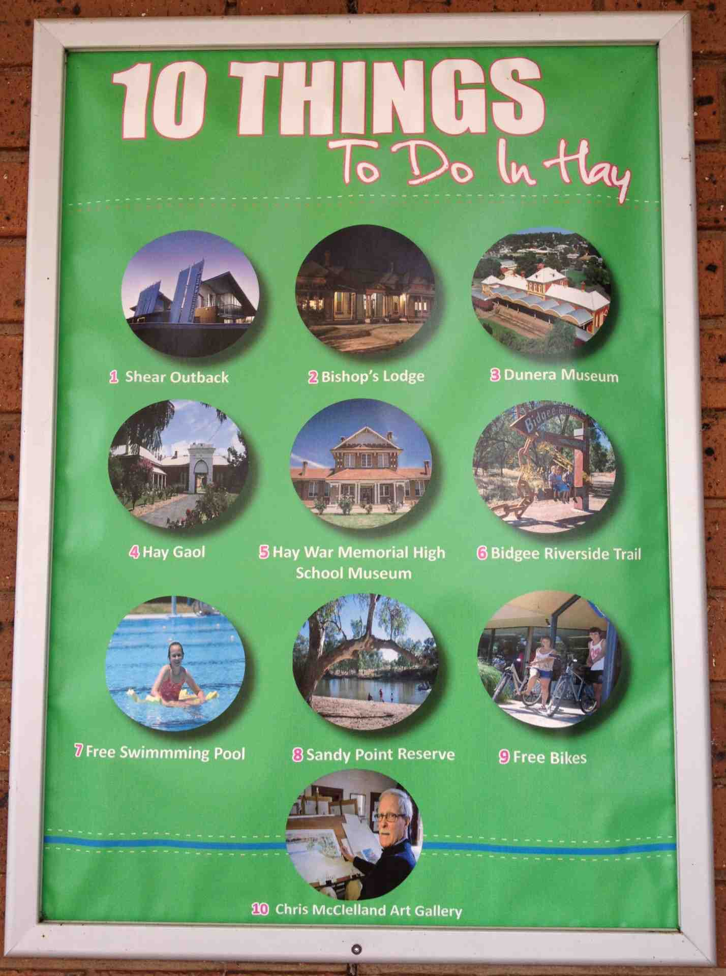 10 Things to do in Hay