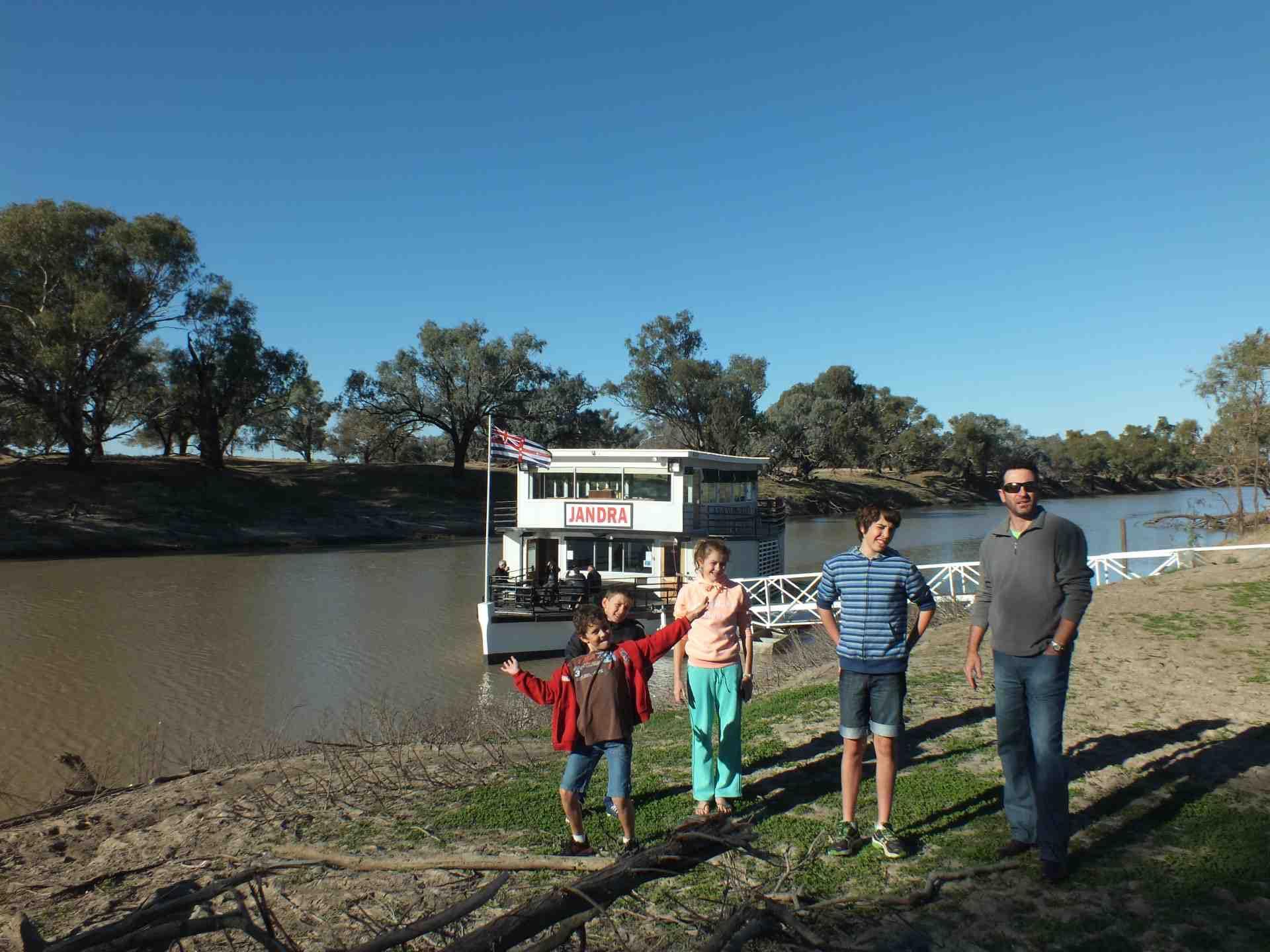 Bourke Paddleboat on Darling River