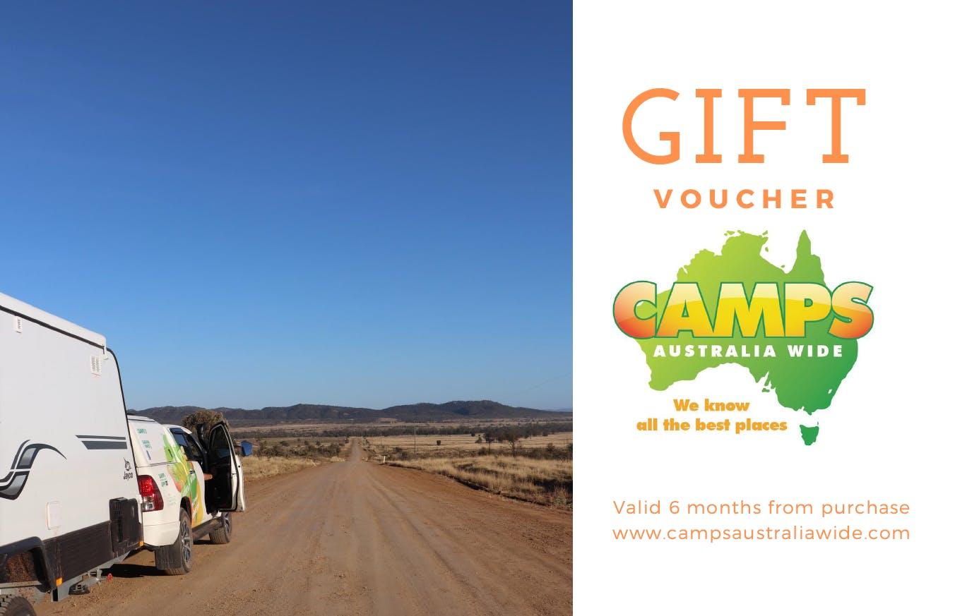 Camps Australia Wide Gift Voucher