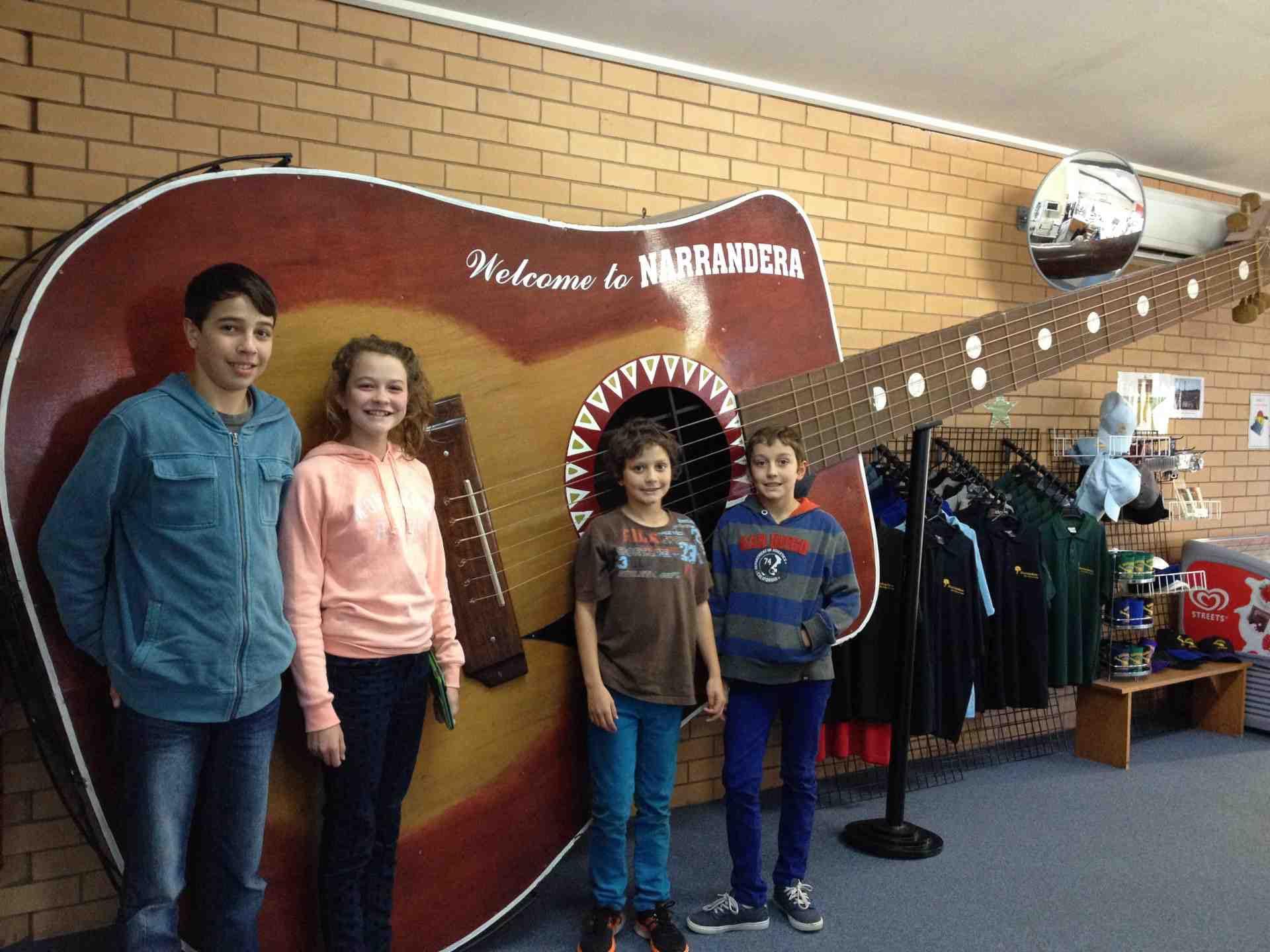 Narrandera Big guitar