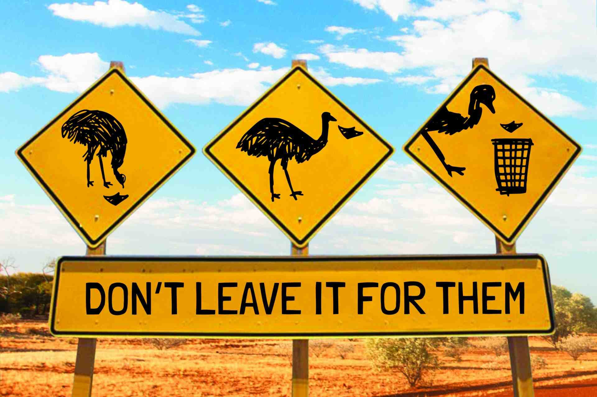 Aussie Travel Code Don't leave it for them