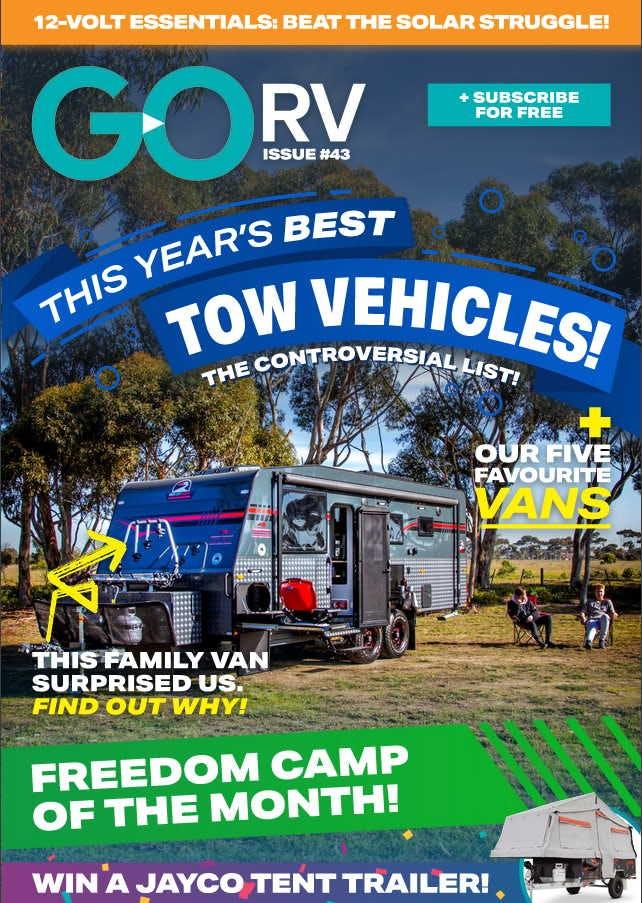GoRV magazine cover - Sept 2020