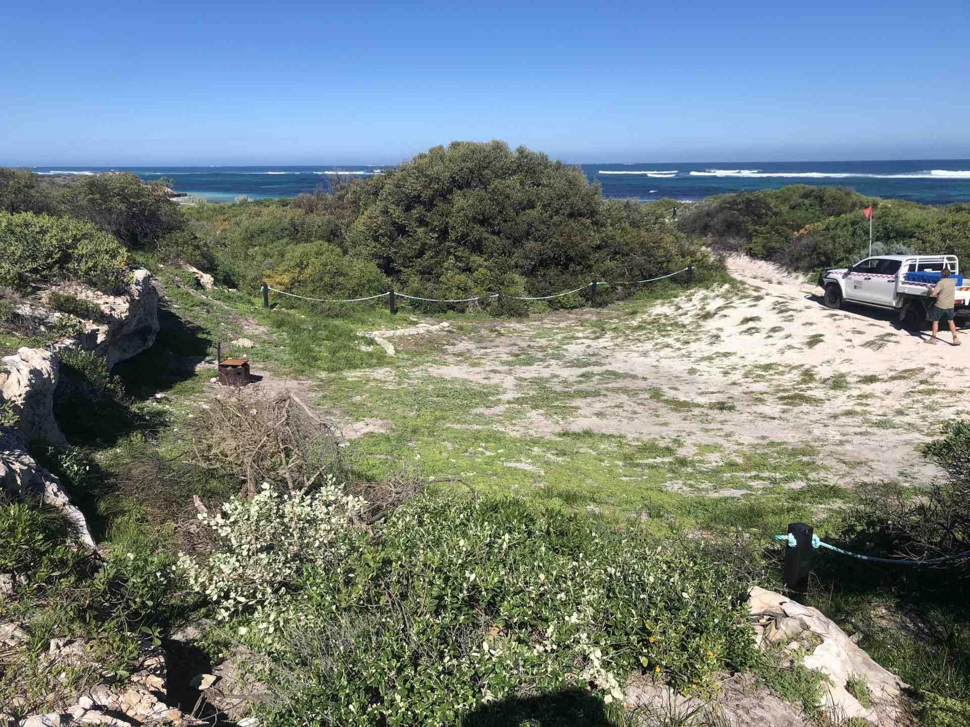 Wanagarren Campground Site 6 Parks and Wildlife Service