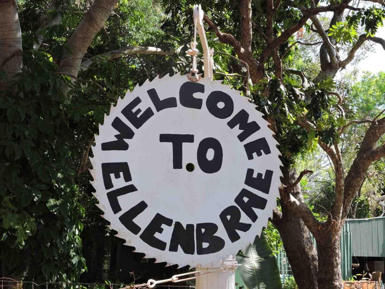 Ellenbrae Station - Site 729 - Welcome Sign