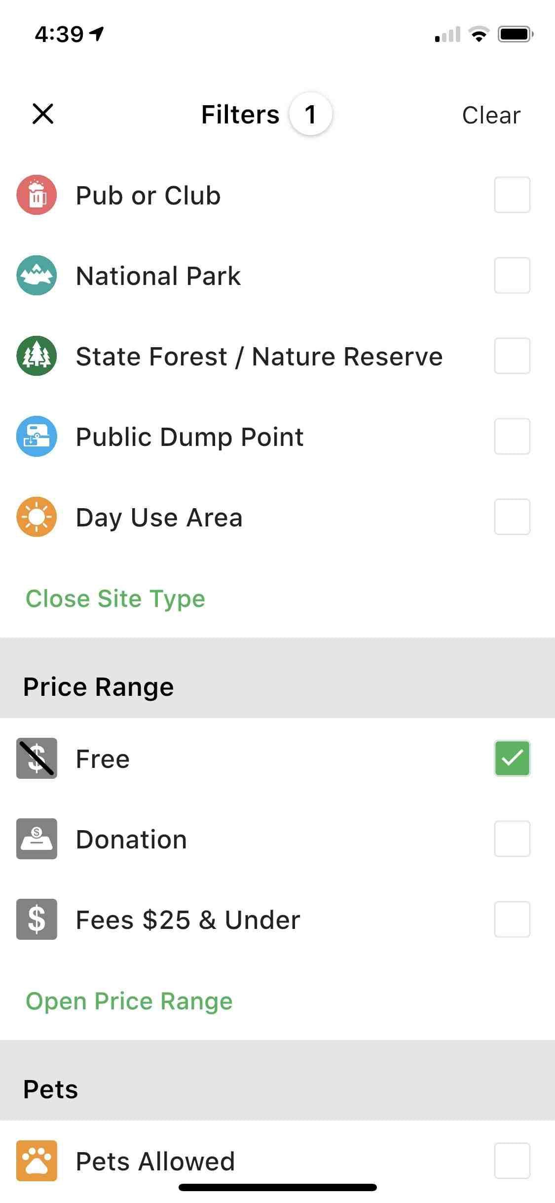 New Camps App V4