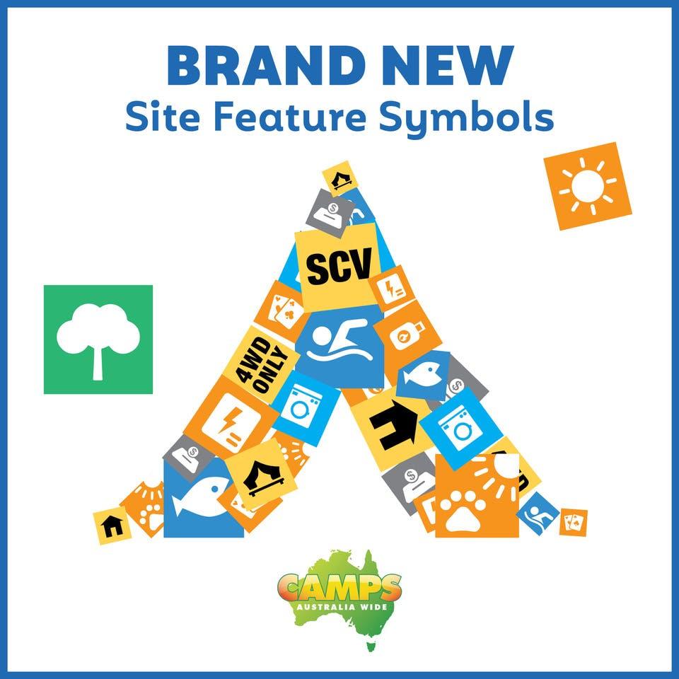 Camps 11 Site Feature symbols