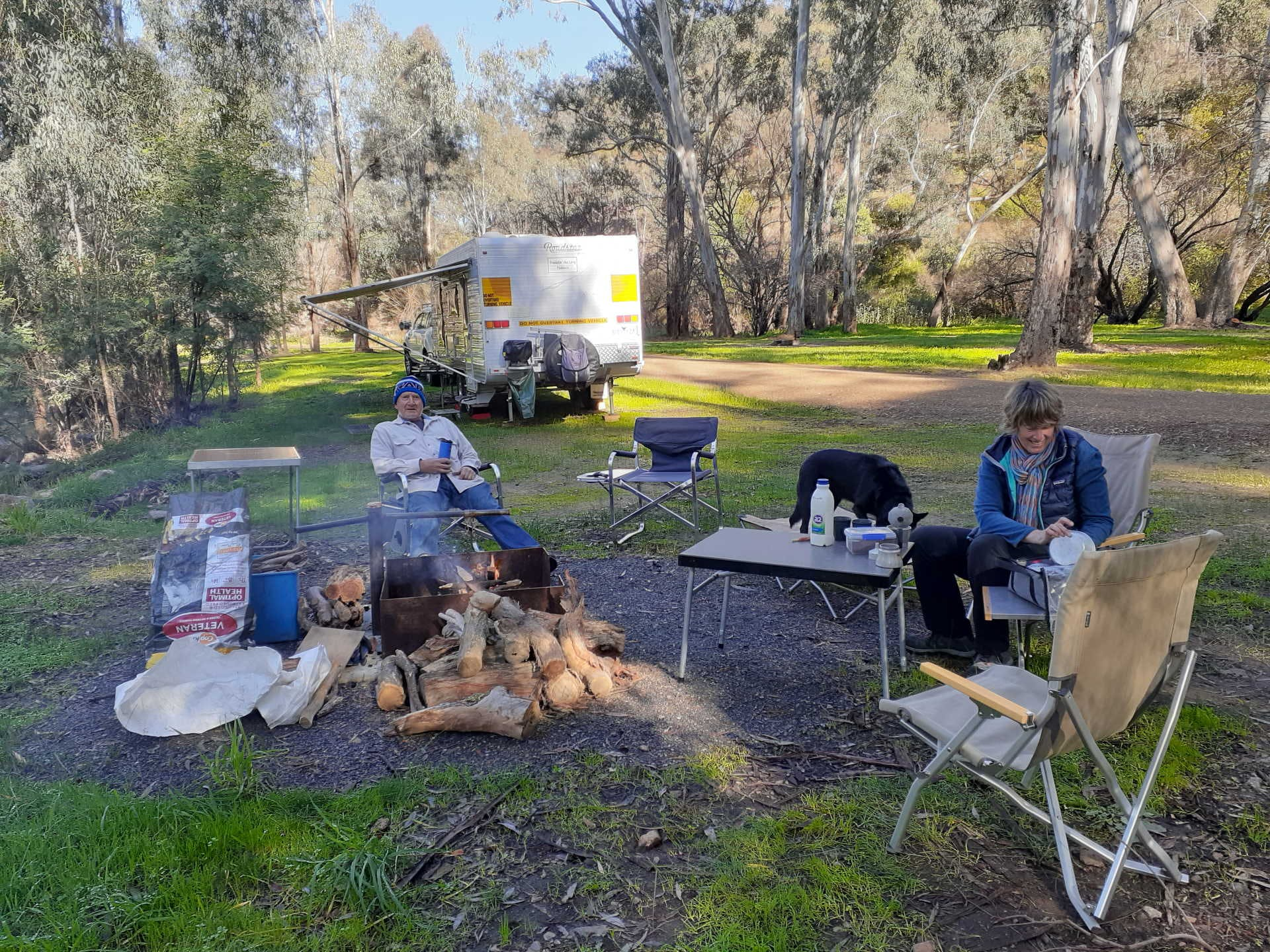 More Victorians will be able to enjoy campsites like Edi Cutting Reserve in the beautiful King Valley, Victoria. Image courtesy Wilma Green
