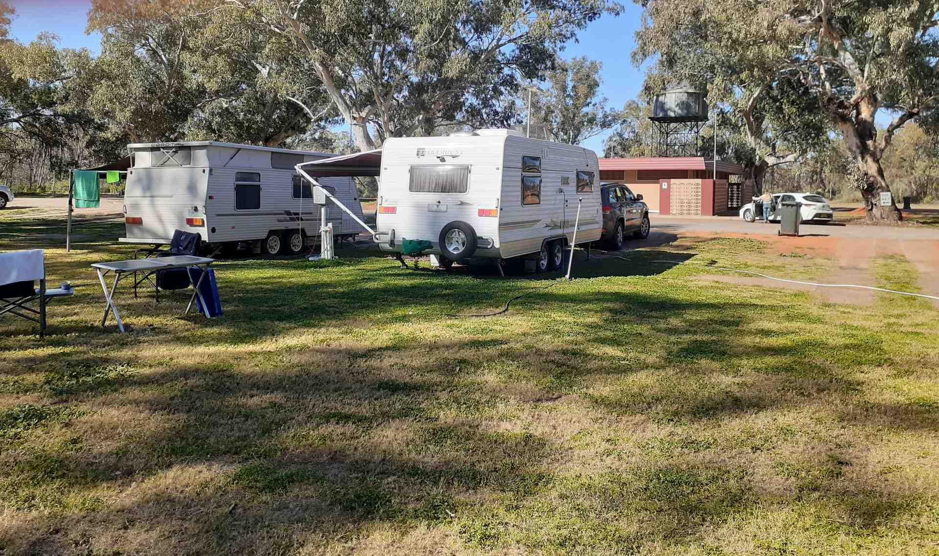 Victory Park Caravan Park Wilcannia NSW - image Trevor Ball