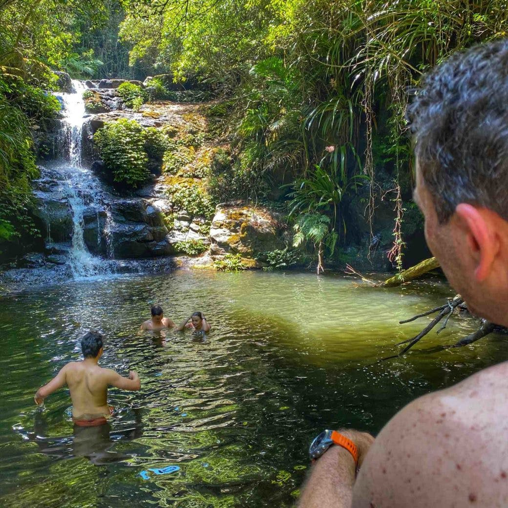 Lamington National Park - Yalnungala Falls