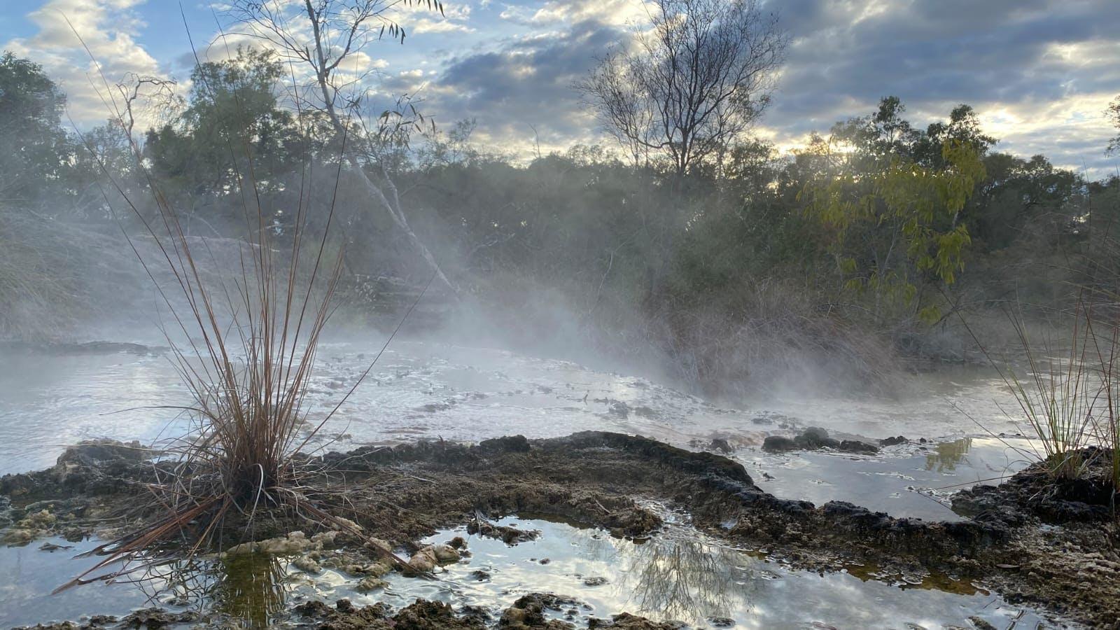 Talaroo hot springs