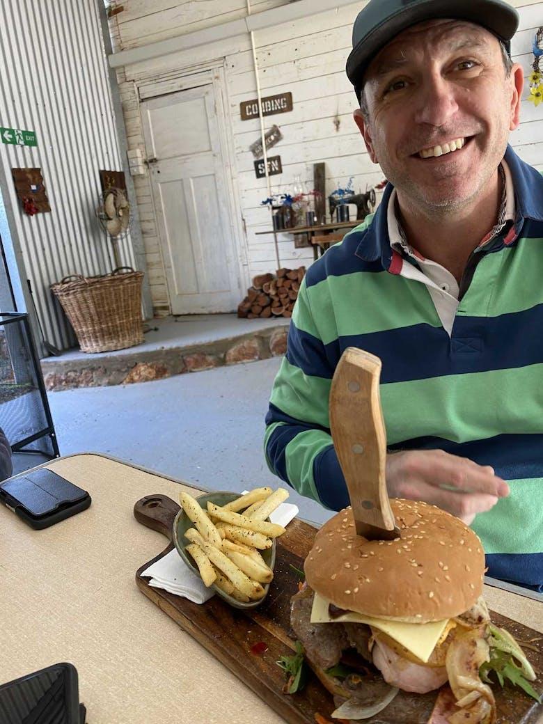 Bollon Burger Deb's Cafe 2021