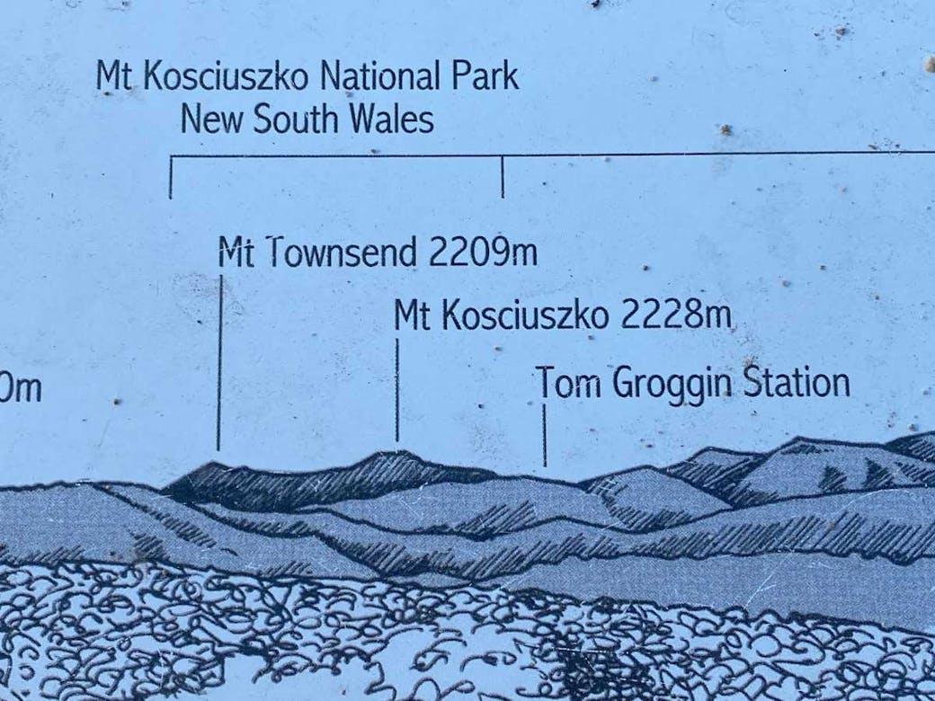 Mt Kosciuszko lookout - Vic 180